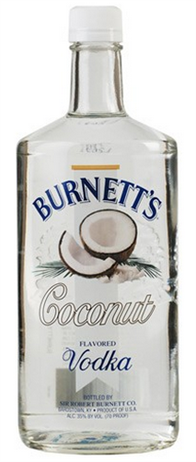 Burnetts Vodka Coconut